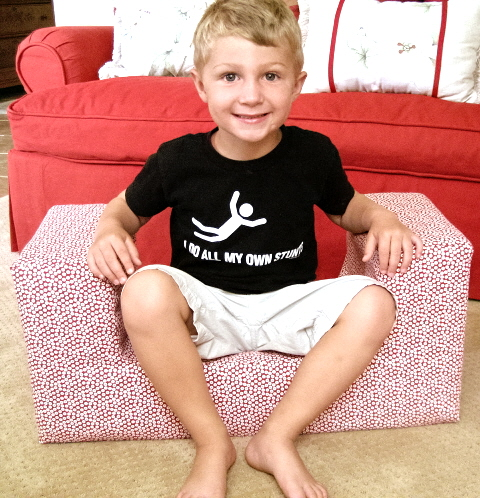 Hyrum sitting in chair blog