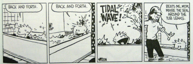 Calvin tub blog
