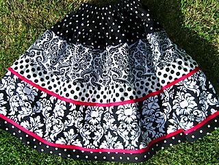 Aspen's skirt