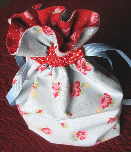 Выкройки подарочного мешочка 55