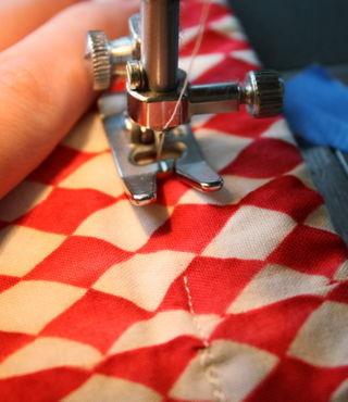 Casing stitch shut
