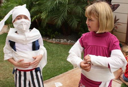 Mummy kids
