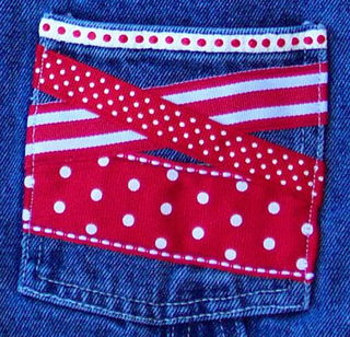 Flag pocket