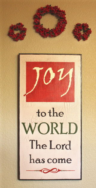 Joy to the world blog