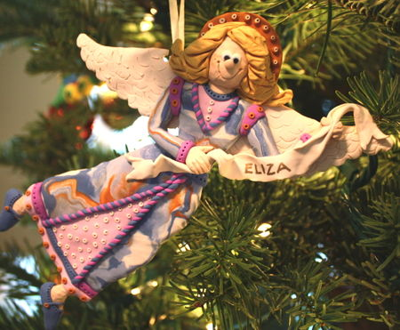 Eliza's first ornament