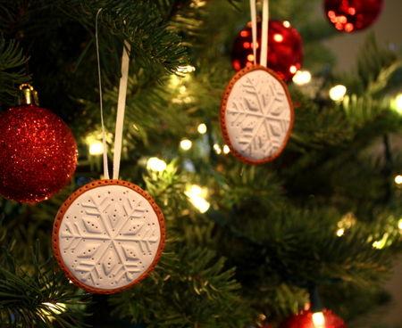 Snowflake medallions