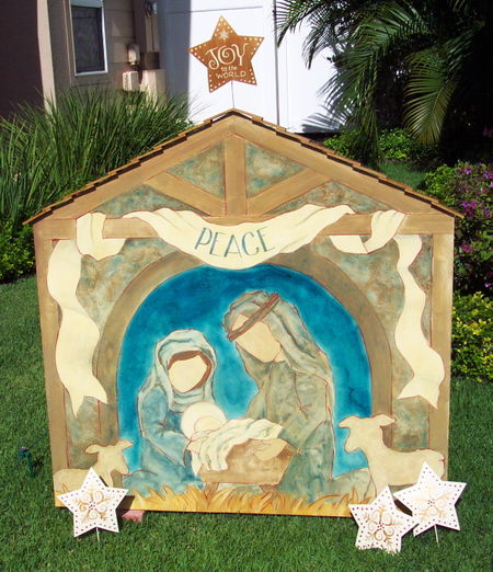 Nativity scene updated