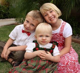 3 kids, untouched