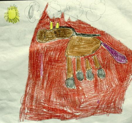 Eliza's horse June 2008