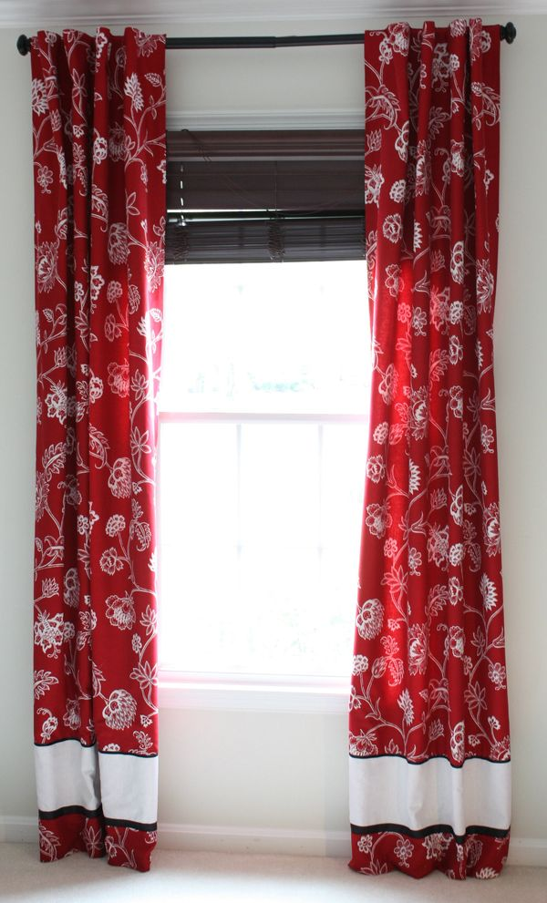 Tutorial For Fully Lined Tab Top Drapes 7 Layer Studio