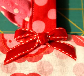 Ribbon closeup