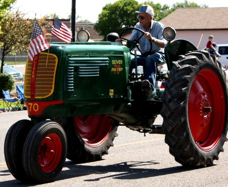 4th parade tractor