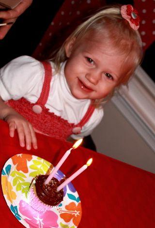 Hazel's bd cupcake