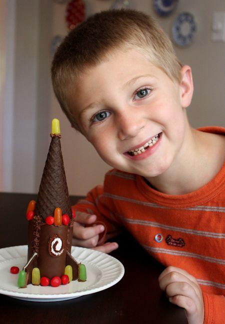 Hyrum and chocolate rocket