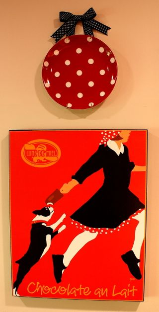 Kitchen chocolate print