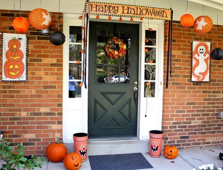 Front door halloween