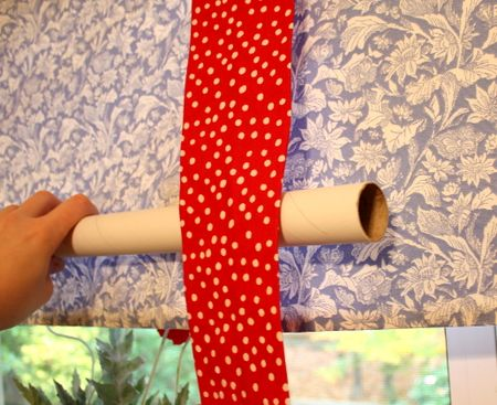 Valance with tube