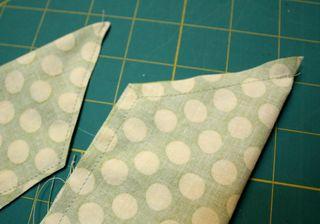 Half apron sash ends