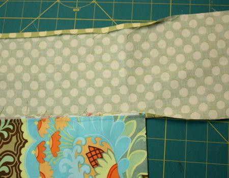 Half apron sash attachment