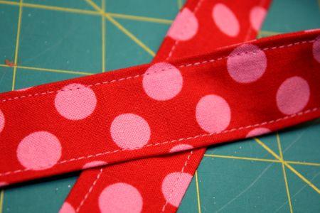 Apron strap closeup