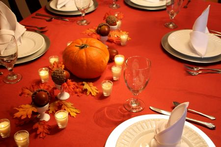 Thanksgiving table2