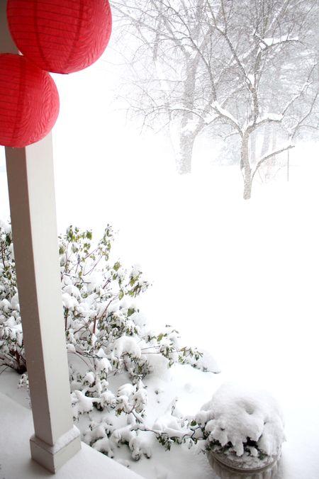 Blizzard front deck