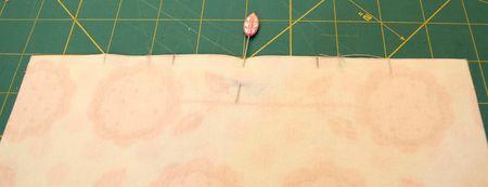 Pleat marks