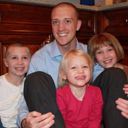 John with kids