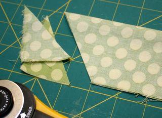 Half apron sash angle