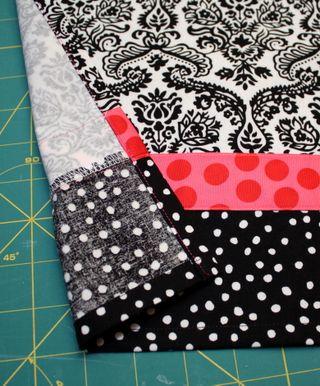 Apron skirt detail