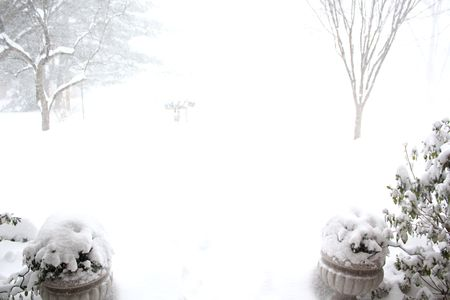 Blizzard front porch2