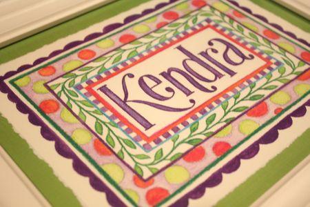 Kendra detail
