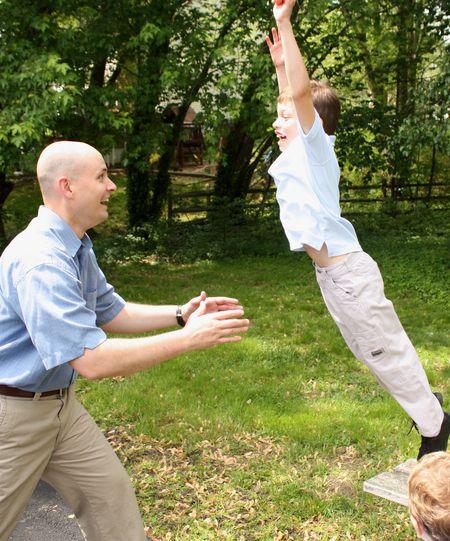 Brayden jumping