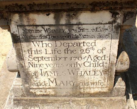 Boy's tomb