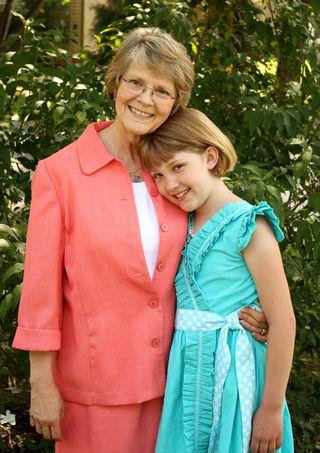 Eliza with Grandma