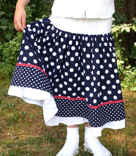 Eliza's skirt