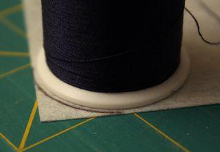 Thread at corner