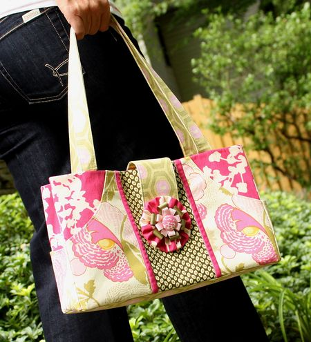 Pocket purse pink3
