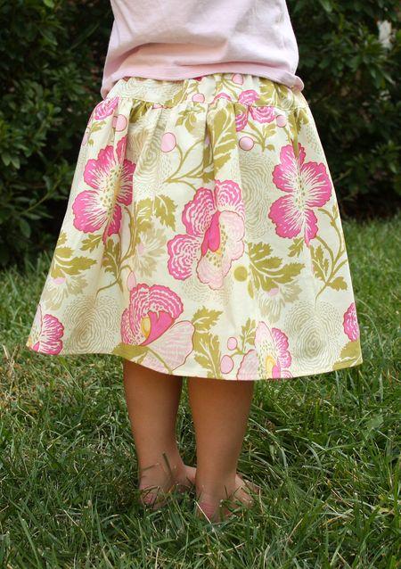 Hazel skirt back