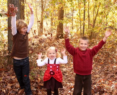 Kids in leaves1 cropped