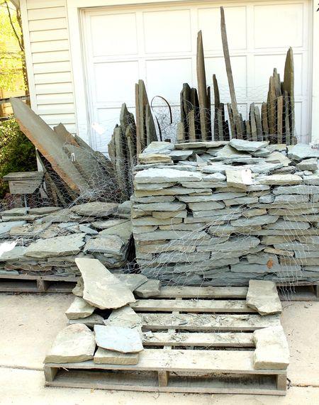 Stone pallets