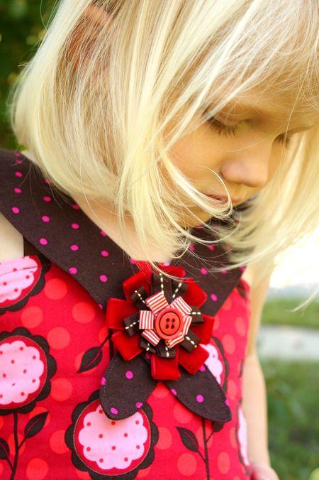 Hazel's bow detail