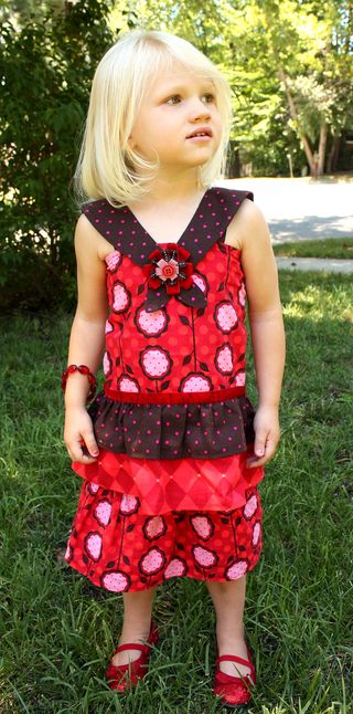 Hazel's dress