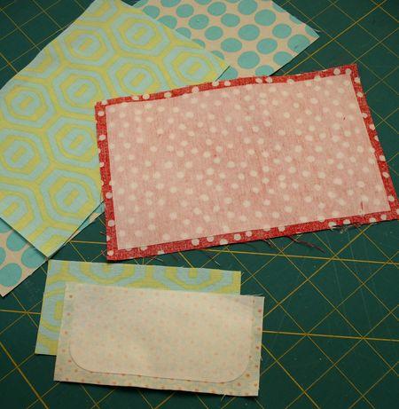 Interfacing bonded on fabric