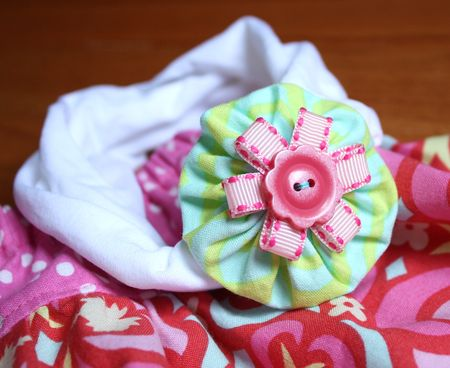 Hairbow detail