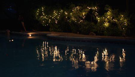 Eccles, pool lights