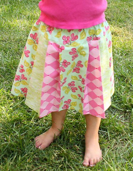 Hazel's cherry skirt