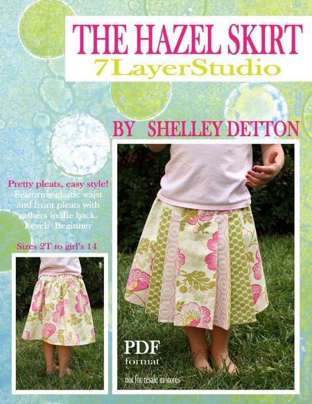 Hazel skirt title page