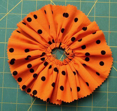 Fabric circle