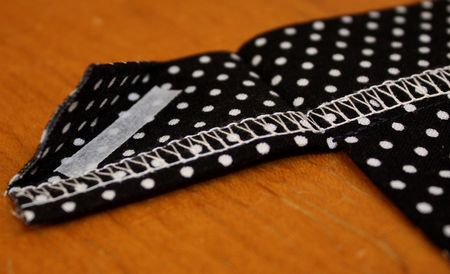 Corner tab diagonal